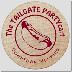 The 2014 TAILGATE PARTYcart Wooden Dollar - Front