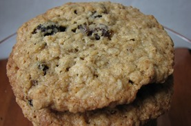Big Oatmeal Raisin Cookies 5