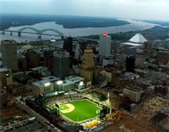 Directions to AutoZone Park - Memphis Redbirds