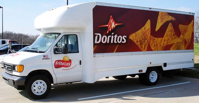 Frito-Lay Dorito truck