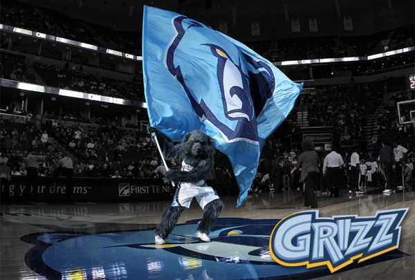Meet Grizz - The mascot of the Memphis Grizzlies
