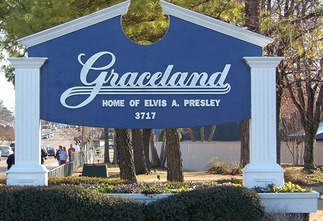 Memphis - Graceland - Home of Elvis Presley