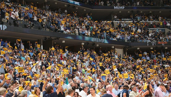 Memphis Grizzlies Fan Zone and Fan Space