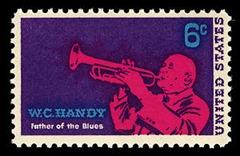 Memphis - W C Handy postage stamp