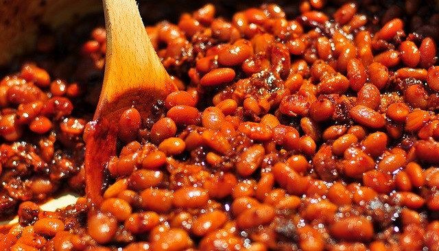Steam Baked Beans